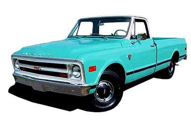 Classic 1971 Chevrolet C20 Pickup Truck